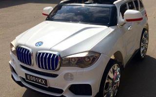 Детский электромобиль BMW X5: инструкция, обзор и отзывы