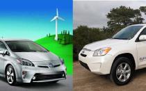 Обзор электромобилей Toyota: Prius, Rav4
