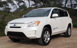 Тойота Рав 4 электромобиль купить