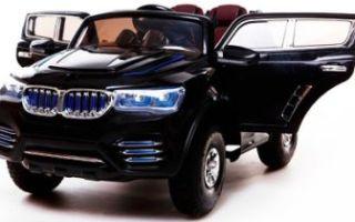Электромобиль BMW X9 – мечта каждого ребенка