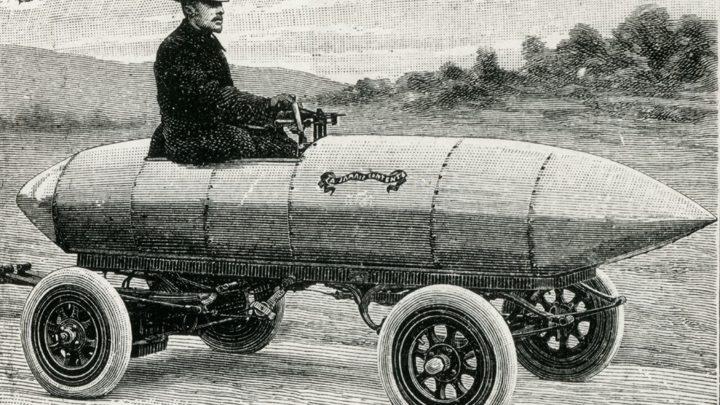 Самый первый электромобиль
