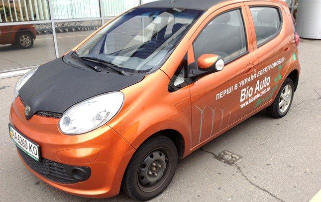Самый недорогой электромобиль в Украине