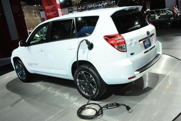 Электромобиль Toyota RAV4 цена