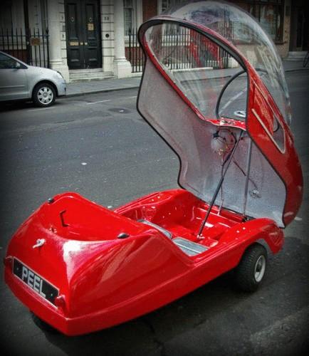 Самый маленький электромобиль