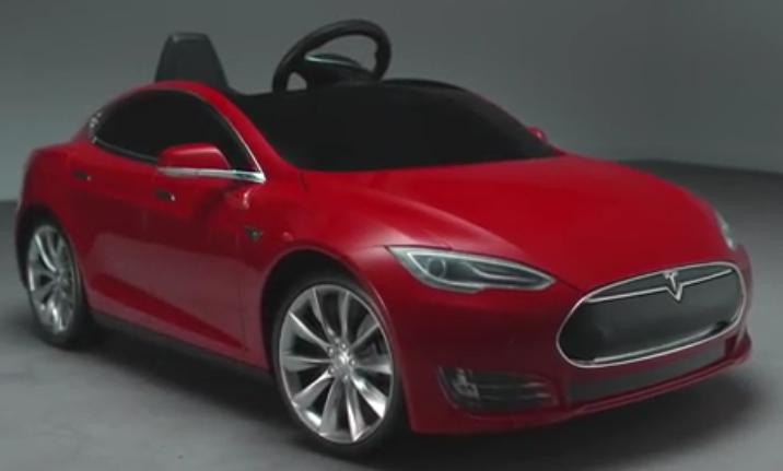 Детский электромобиль Tesla