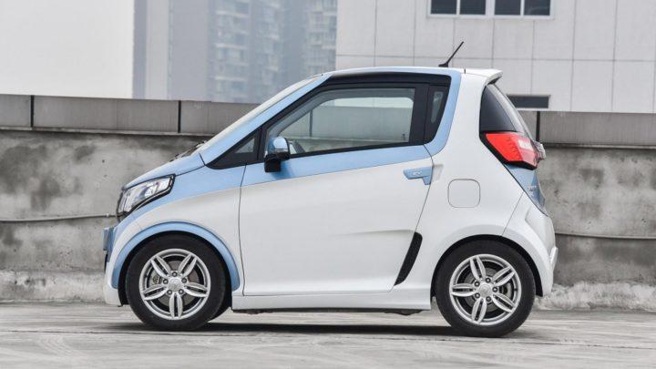 Zotye E200EV Китайский электромобиль