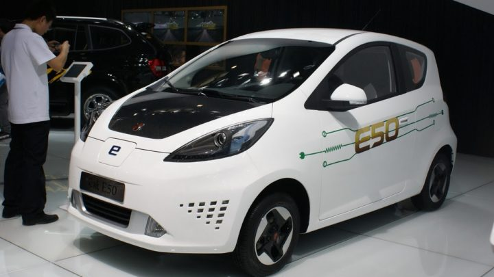 Дешевые электромобили из Китая цена