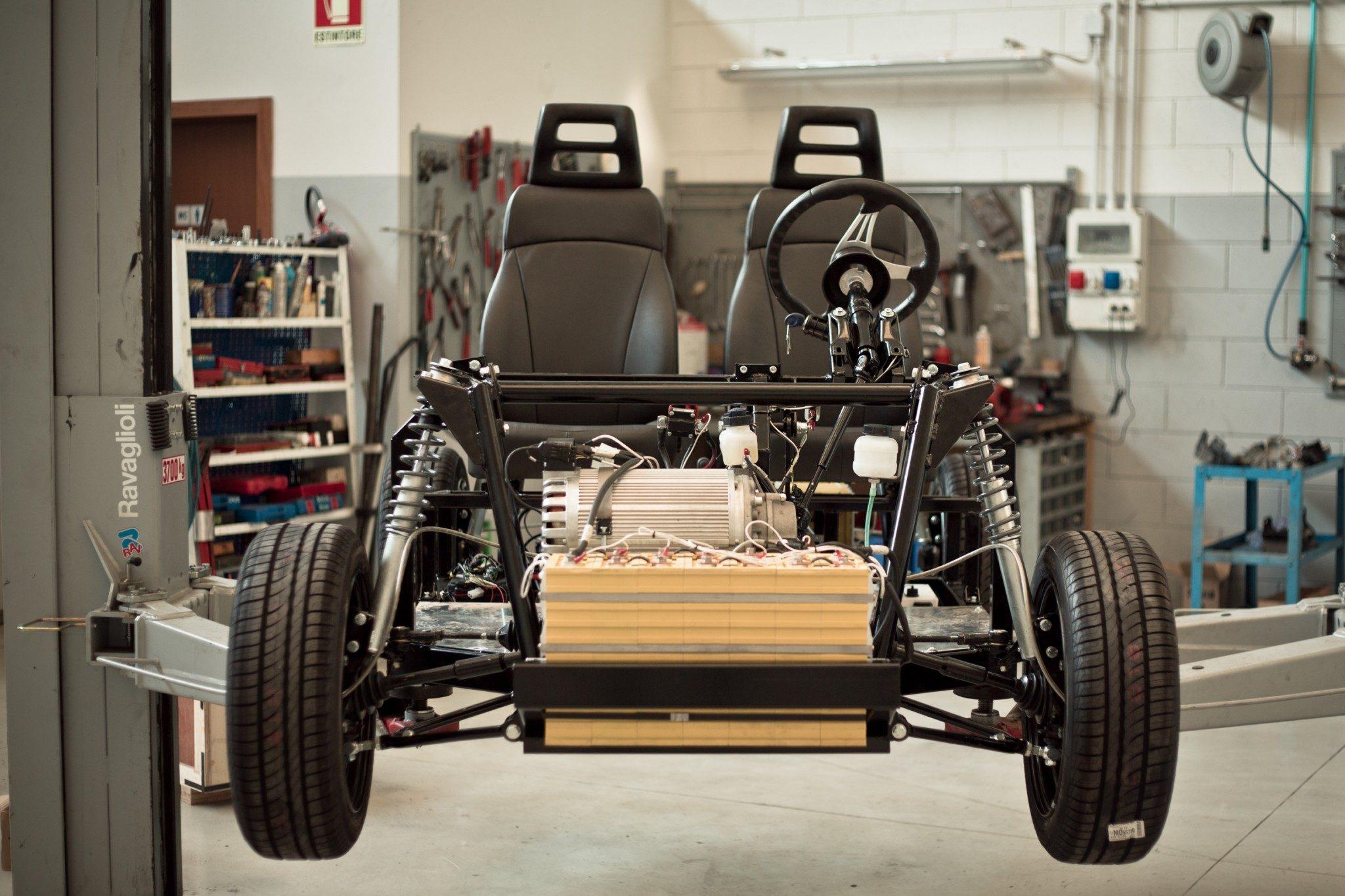 как сделать электромобиль в домашних условиях.