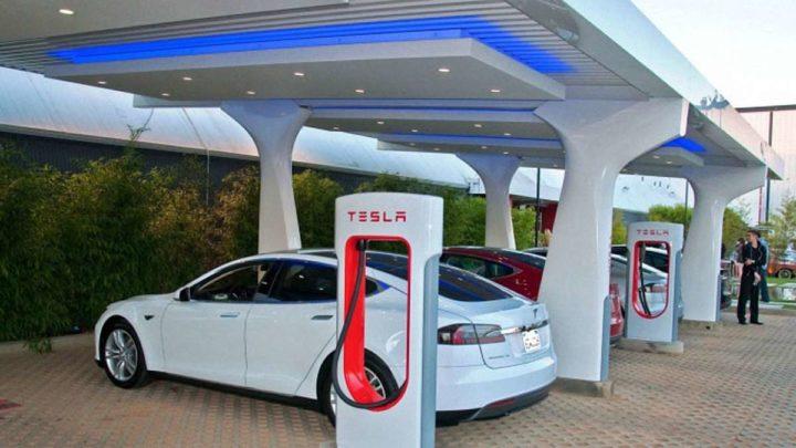 Станции заправки электромобилей