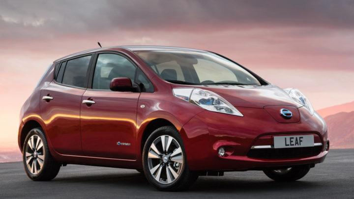 электромобиль nissan leaf 2018