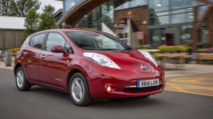Цена nissan leaf электромобиля