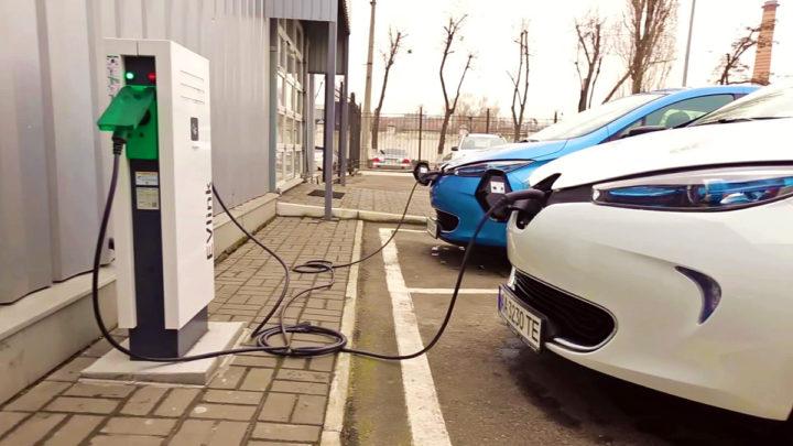 китайские зарядные станции для электромобиля