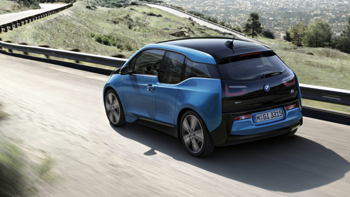 BMW 3 электромобиль