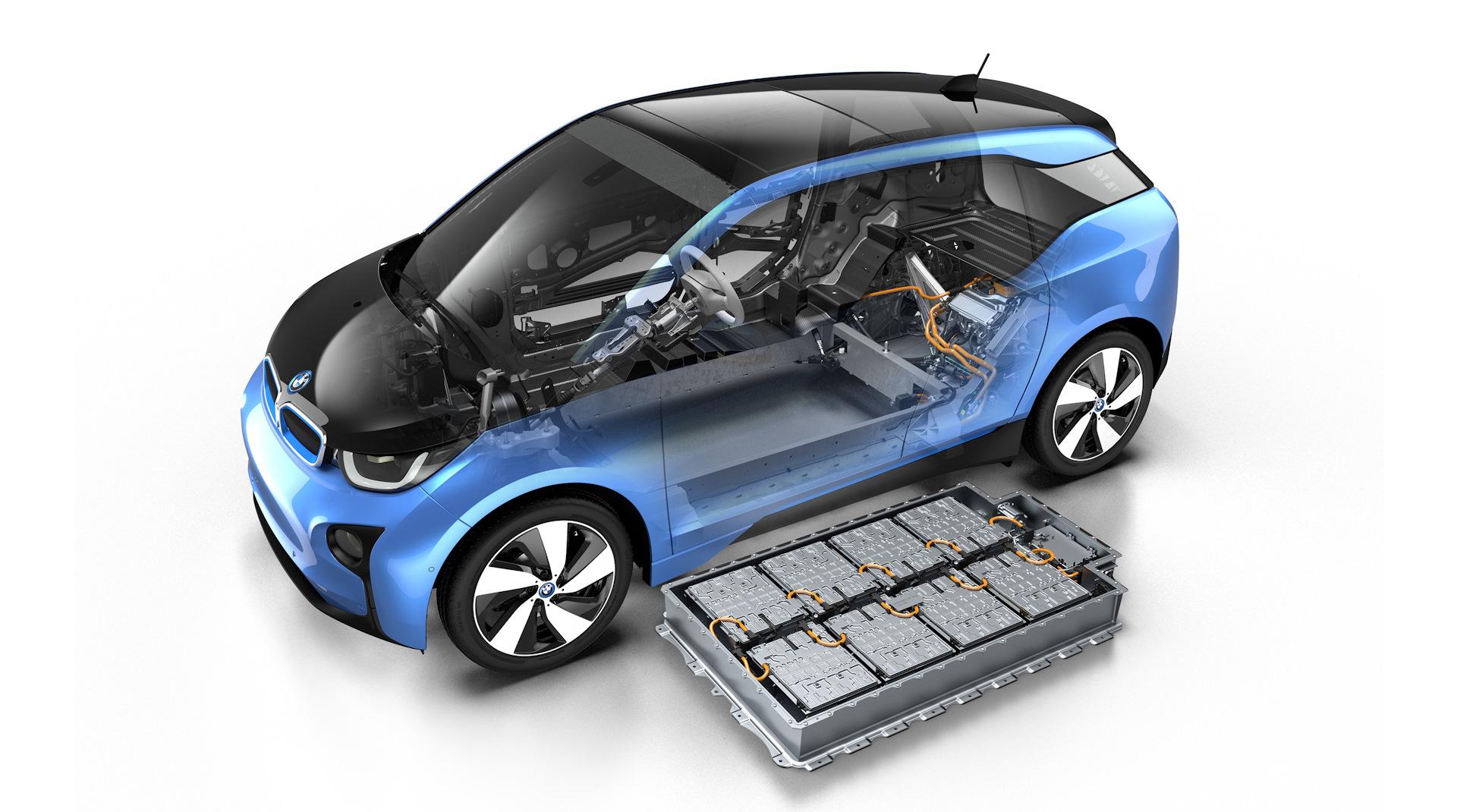 Схема электромобиля